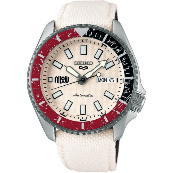 Мужские наручные часы SEIKO Seiko 5 x STREET FIGHTER V Ryu Limited Edition SRPF19K1 - Фото № 5
