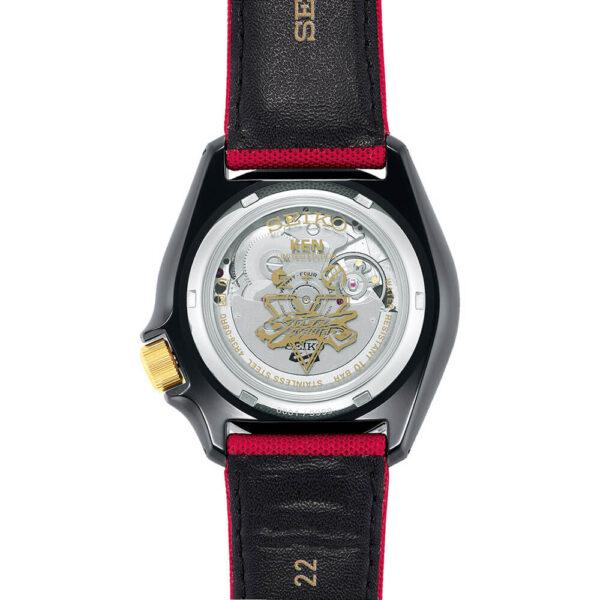 Мужские наручные часы SEIKO Seiko 5 x STREET FIGHTER V Ken Limited Edition SRPF20K1 - Фото № 21