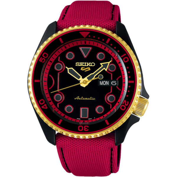 Мужские наручные часы SEIKO Seiko 5 x STREET FIGHTER V Ken Limited Edition SRPF20K1 - Фото № 11