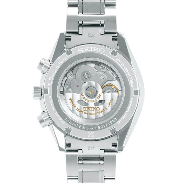 Мужские наручные часы SEIKO Prospex Automatic Chronograph 50th Anniversary Limited Edition SRQ029J1 - Фото № 8
