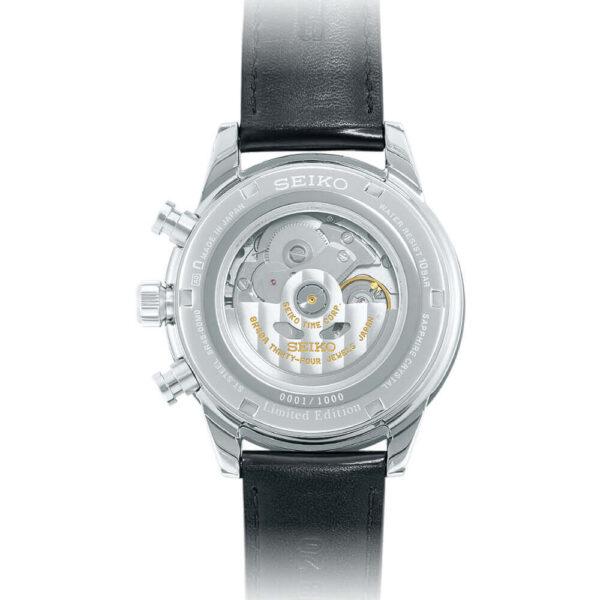 Мужские наручные часы SEIKO Presage Chronograph 55th Anniversary Limited Edition SRQ031J1 - Фото № 7