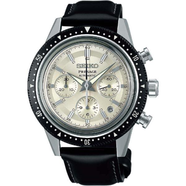 Мужские наручные часы SEIKO Presage Chronograph 55th Anniversary Limited Edition SRQ031J1 - Фото № 4