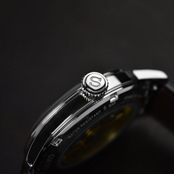 Мужские наручные часы SEIKO Presage Cocktail Time Stinger SSA407J1 - Фото № 10