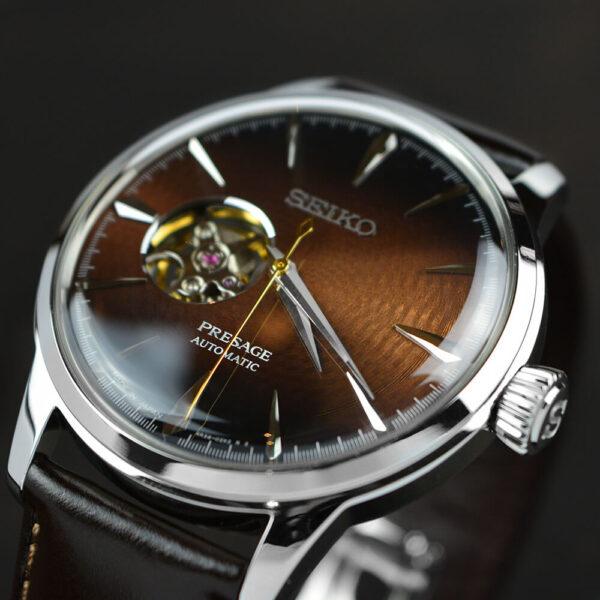 Мужские наручные часы SEIKO Presage Cocktail Time Stinger SSA407J1 - Фото № 9