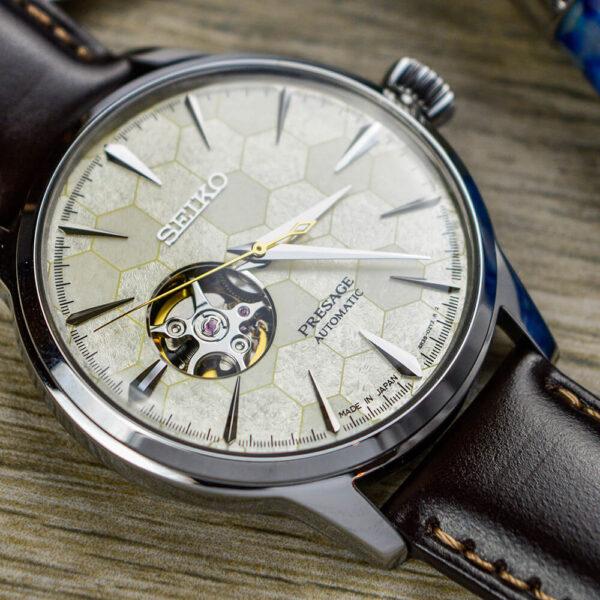 Мужские наручные часы SEIKO Presage Cocktail Time Star Bar Honeycomb Limited Edition SSA409J1 - Фото № 18
