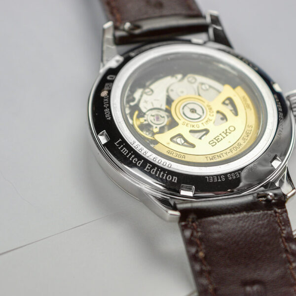 Мужские наручные часы SEIKO Presage Cocktail Time Star Bar Honeycomb Limited Edition SSA409J1 - Фото № 19