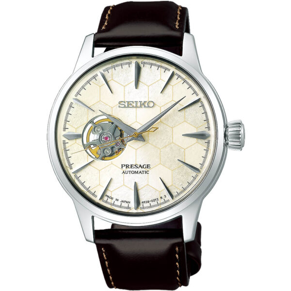Мужские наручные часы SEIKO Presage Cocktail Time Star Bar Honeycomb Limited Edition SSA409J1 - Фото № 6