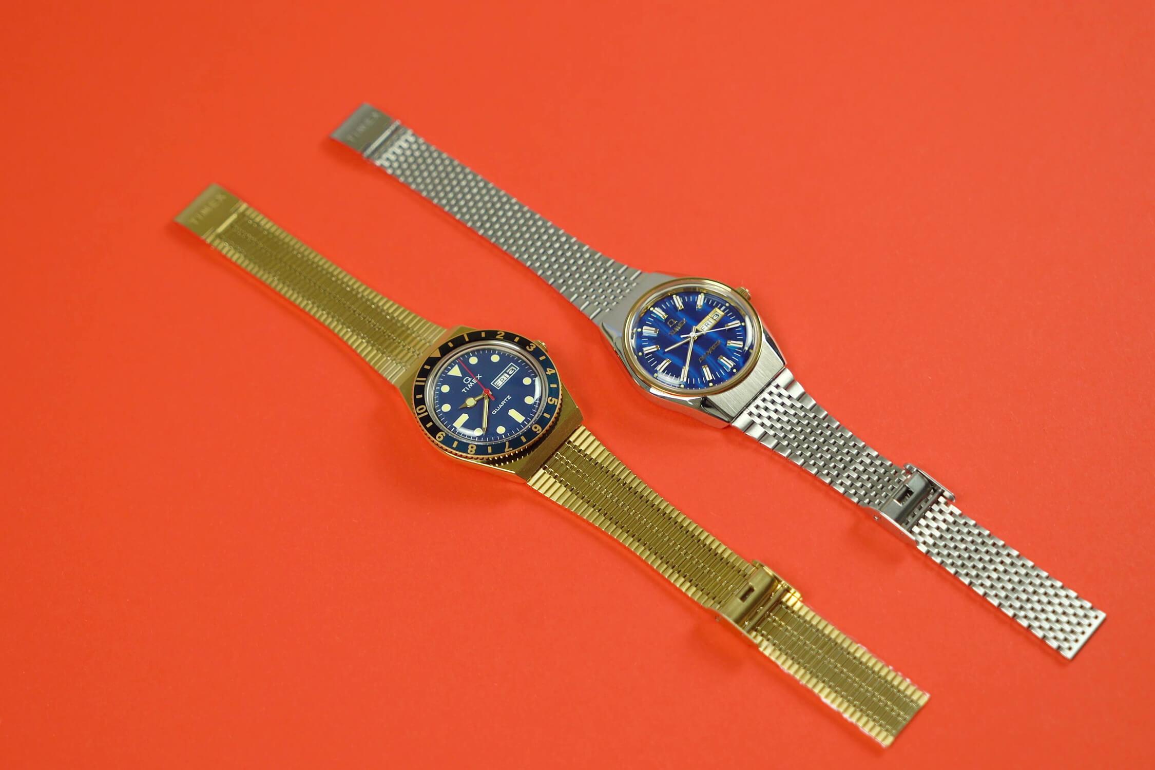 timex Q quartz Tx2u61400 Tx2t80800