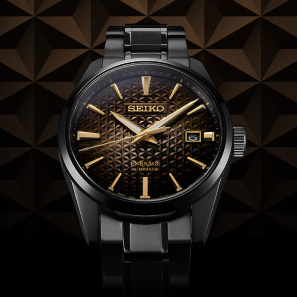 Мужские наручные часы SEIKO Presage Sharp Edged 140th Anniversary Limited Edition SPB205J1 - Фото № 7