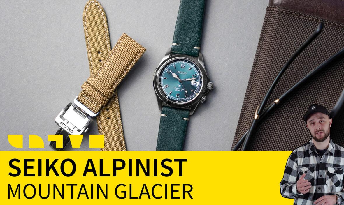 seiko alpinist mountain glacier SPB199J1 limited edition