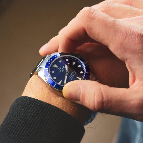 Мужские наручные часы CERTINA Aqua DS Action Diver C032.807.11.041.00 - Фото № 12