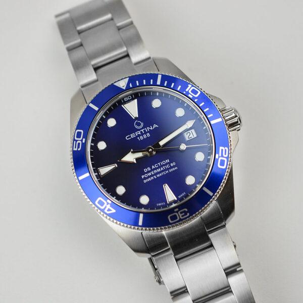 Мужские наручные часы CERTINA Aqua DS Action Diver C032.807.11.041.00 - Фото № 11