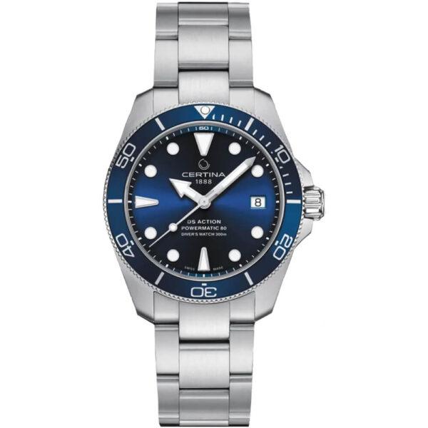 Мужские наручные часы CERTINA Aqua DS Action Diver C032.807.11.041.00 - Фото № 8