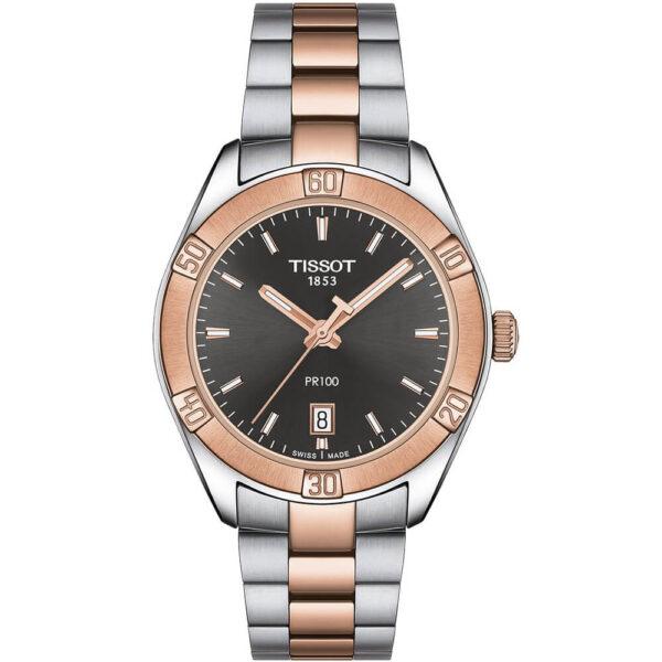 Женские наручные часы TISSOT PR 100 Sport Chic T101.910.22.061.00 - Фото № 4