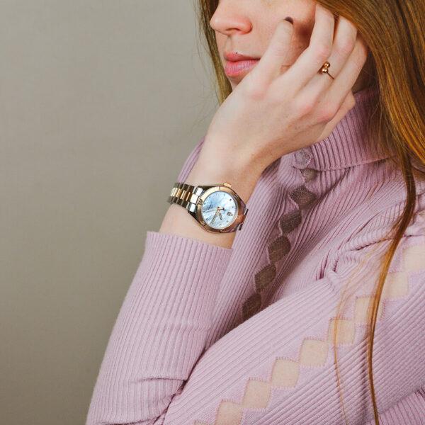Женские наручные часы TISSOT PR 100 Sport Chic T101.910.22.116.00 - Фото № 7