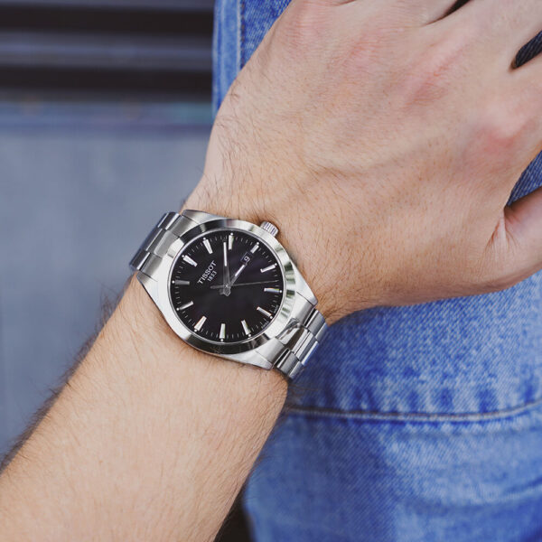 Мужские наручные часы TISSOT Gentleman T127.410.11.051.00 - Фото № 10