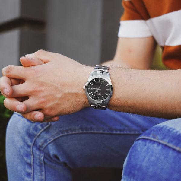 Мужские наручные часы TISSOT Gentleman T127.410.11.051.00 - Фото № 8