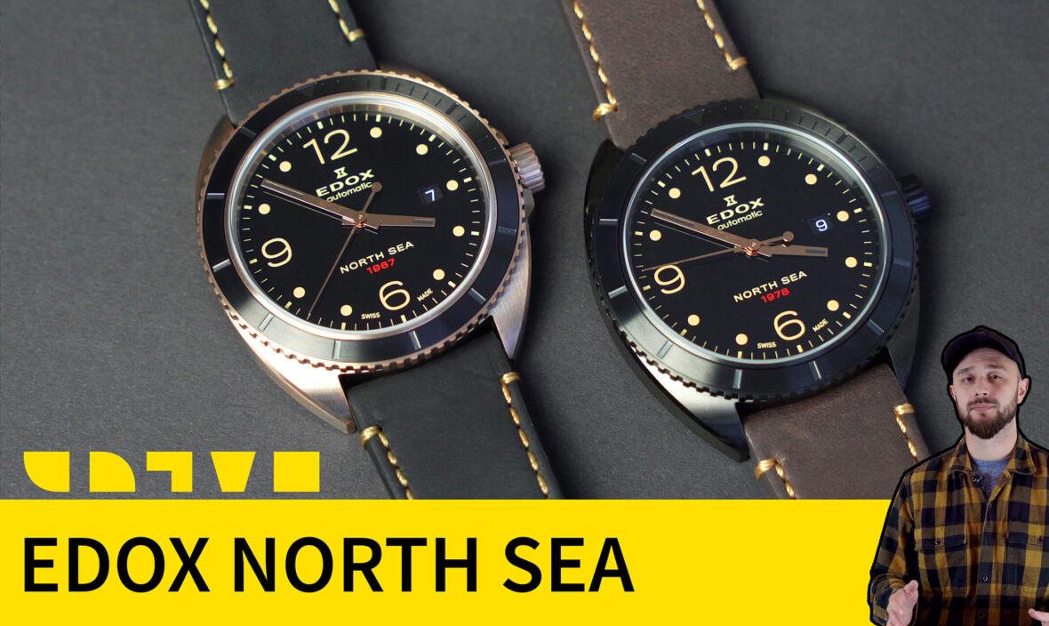 часы edox north sea