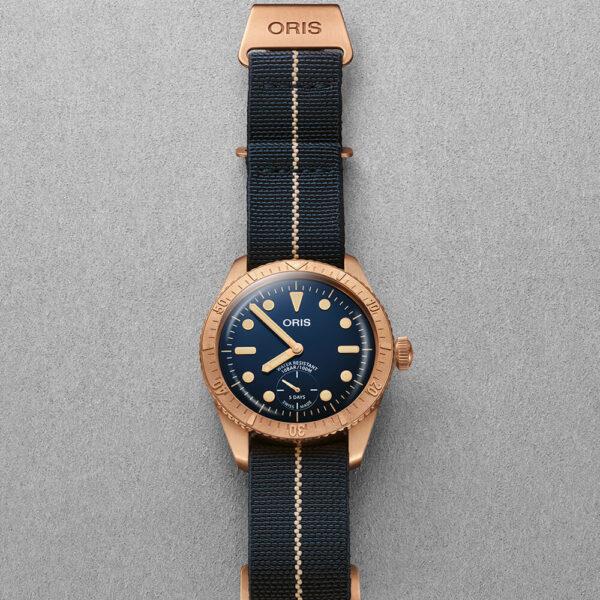 Мужские наручные часы ORIS DIVERS CARL BRASHEAR CALIBRE 401 LIMITED EDITION 01 401 7764 3185-Set - Фото № 9