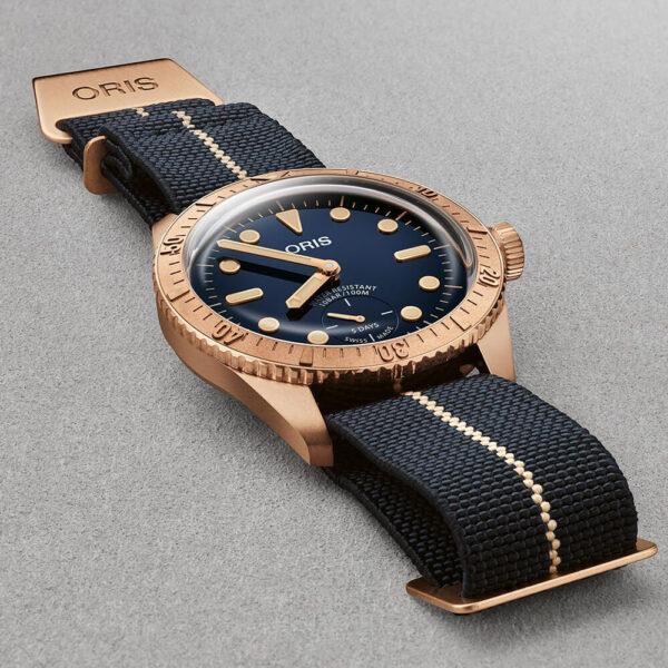 Мужские наручные часы ORIS DIVERS CARL BRASHEAR CALIBRE 401 LIMITED EDITION 01 401 7764 3185-Set - Фото № 10