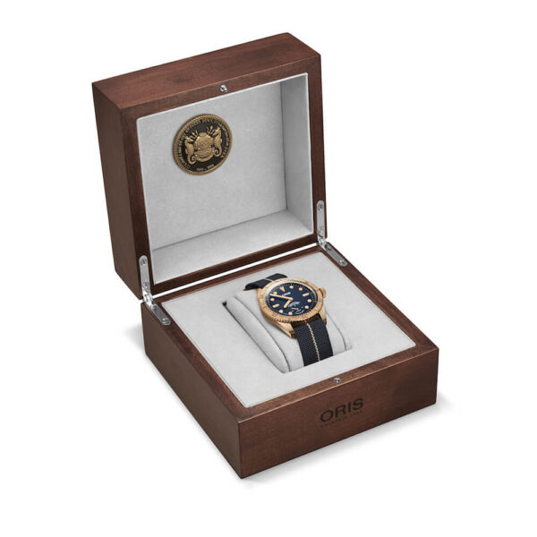 Мужские наручные часы ORIS DIVERS CARL BRASHEAR CALIBRE 401 LIMITED EDITION 01 401 7764 3185-Set - Фото № 13