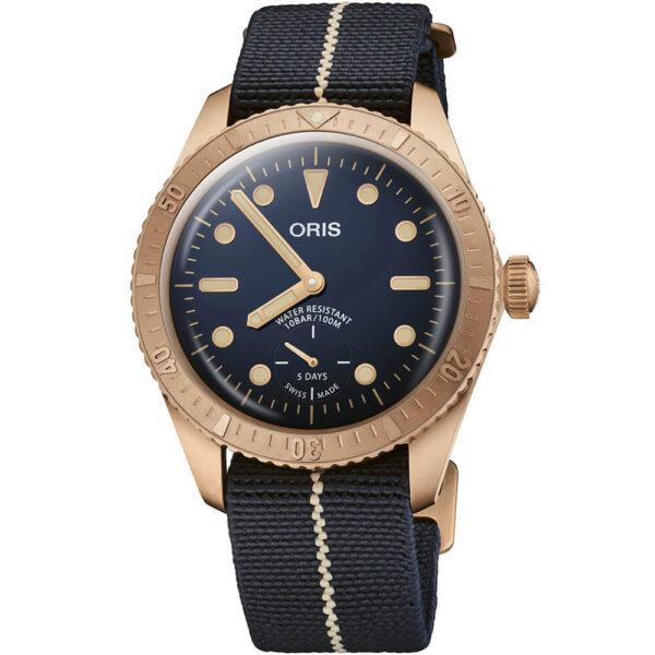 Мужские наручные часы ORIS DIVERS CARL BRASHEAR CALIBRE 401 LIMITED EDITION 01 401 7764 3185-Set - Фото № 7