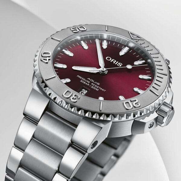 Мужские наручные часы ORIS AQUIS 01 733 7766 4158-07 8 22 05PEB - Фото № 8