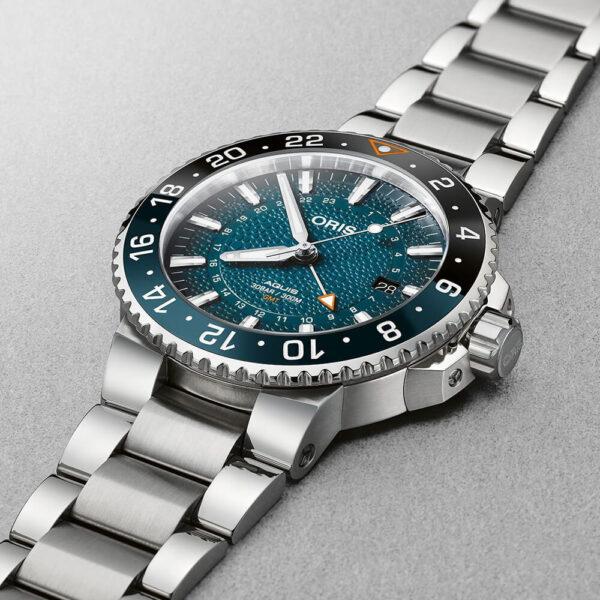 Мужские наручные часы ORIS AQUIS WHALE SHARK LIMITED EDITION 01 798 7754 4175-Set - Фото № 9