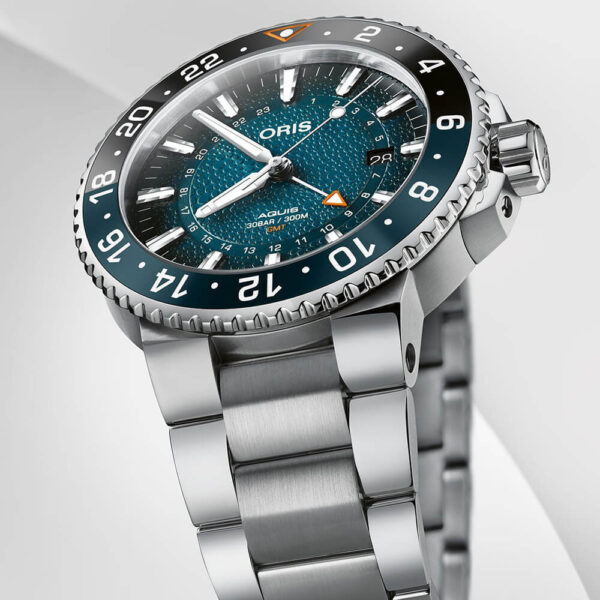 Мужские наручные часы ORIS AQUIS WHALE SHARK LIMITED EDITION 01 798 7754 4175-Set - Фото № 10