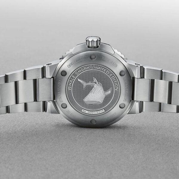 Мужские наручные часы ORIS AQUIS WHALE SHARK LIMITED EDITION 01 798 7754 4175-Set - Фото № 12