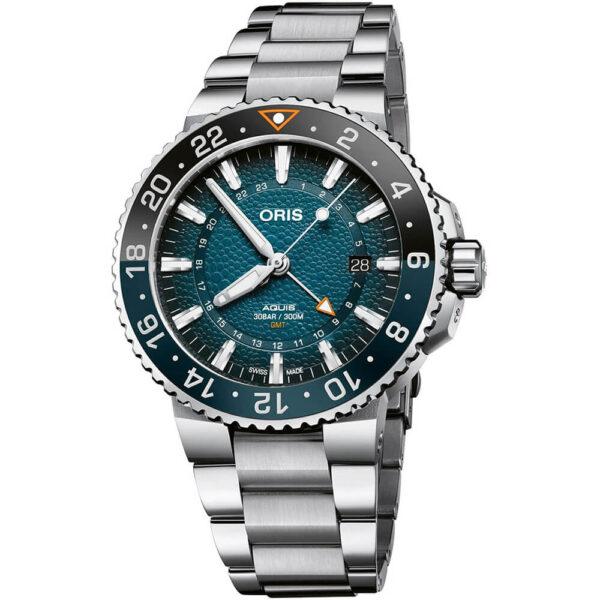 Мужские наручные часы ORIS AQUIS WHALE SHARK LIMITED EDITION 01 798 7754 4175-Set - Фото № 7