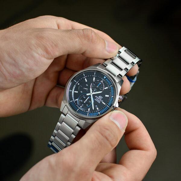 Мужские наручные часы CASIO Edifice EFR-S572D-1AVUEF6 - Фото № 11