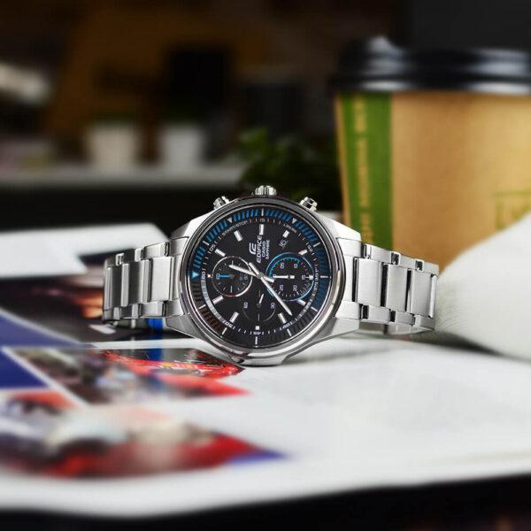 Мужские наручные часы CASIO Edifice EFR-S572D-1AVUEF6 - Фото № 10