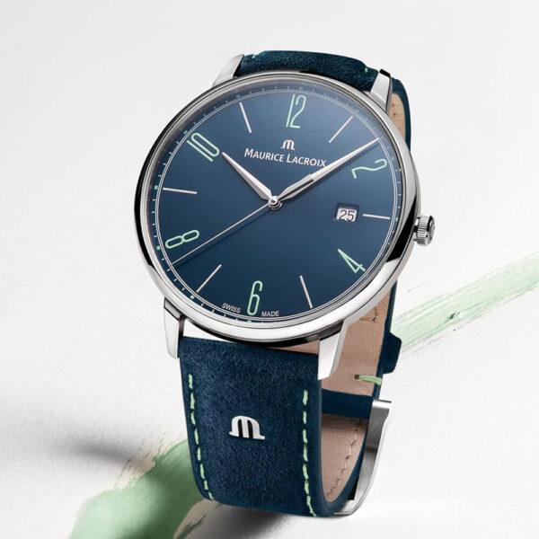 Мужские наручные часы MAURICE LACROIX Eliros EL1118-SS00E-420-C - Фото № 9