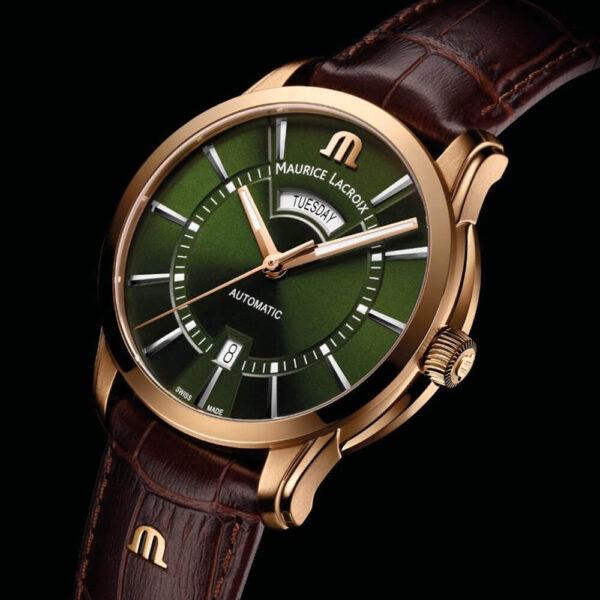 Мужские наручные часы MAURICE LACROIX Pontos PT6358-BRZ01-63E-3 - Фото № 7