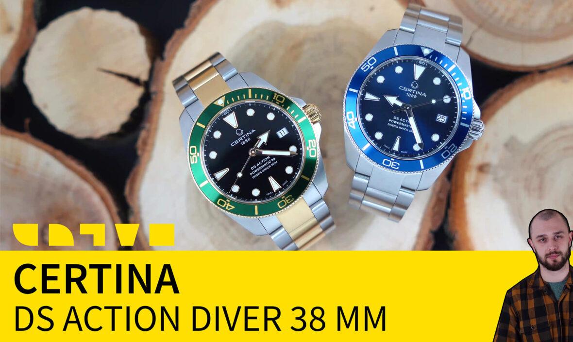 certina ds action diver 38mm C032.807.11.041.00