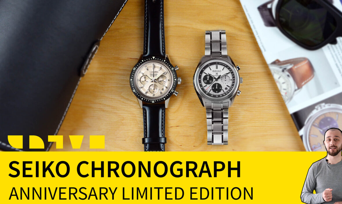 seiko automatic chronograph-anniversary limited edition