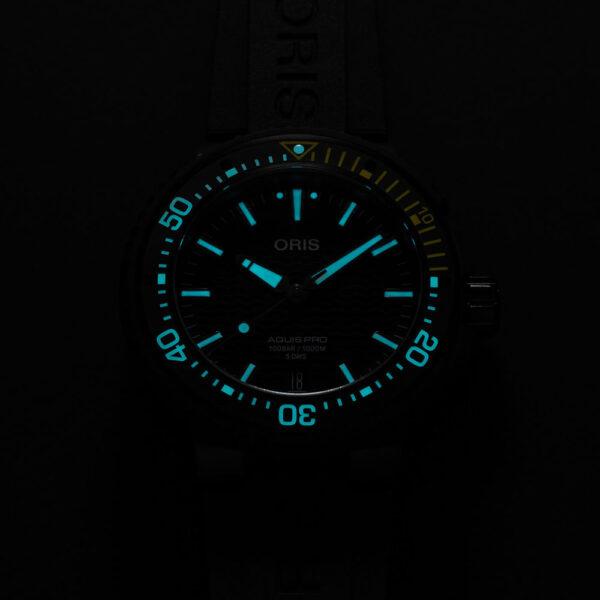 Мужские наручные часы ORIS AQUIS 01 400 7767 7754-07 426 64BTEB - Фото № 12