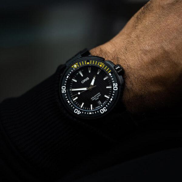 Мужские наручные часы ORIS AQUIS 01 400 7767 7754-07 426 64BTEB - Фото № 11