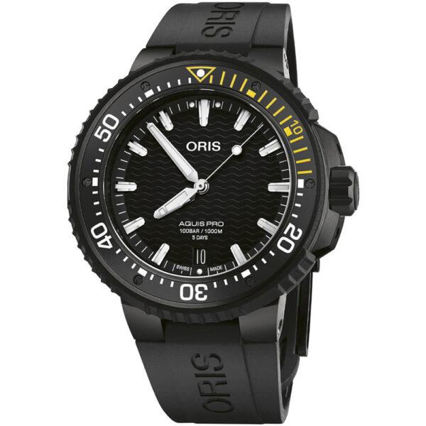 Мужские наручные часы ORIS AQUIS 01 400 7767 7754-07 426 64BTEB - Фото № 8