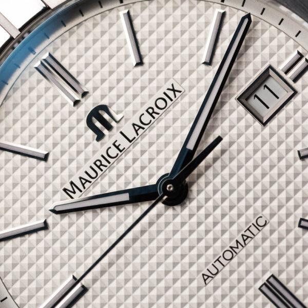 Мужские наручные часы MAURICE LACROIX Aikon Automatic AI6008-SS002-130-1 - Фото № 8