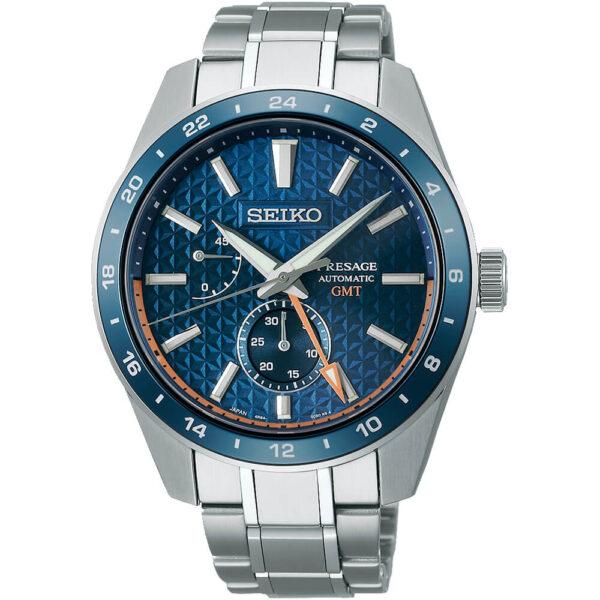 Мужские наручные часы SEIKO Presage Sharp Edged GMT Aitetsu SPB217J1