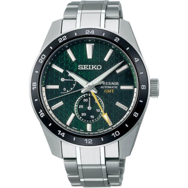 Мужские наручные часы SEIKO Presage Sharp Edged GMT Tokiwa SPB219J1