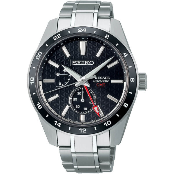 Мужские наручные часы SEIKO Presage Sharp Edged GMT Sumi-iro SPB221J1 - Фото № 6