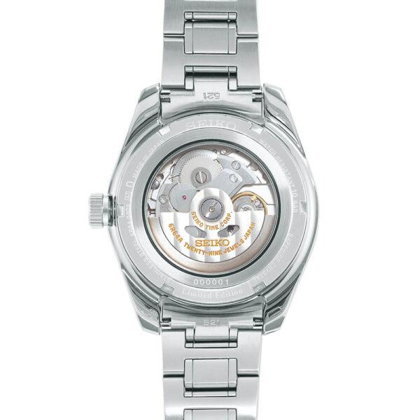 Мужские наручные часы SEIKO Presage Sharp Edged GMT 140th Anniversary Limited Edition SPB223J1 - Фото № 6