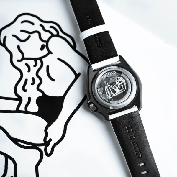 Мужские наручные часы SEIKO Seiko 5 Sports x AUTO MOAI SRPG43K1 Limited Edition - Фото № 13