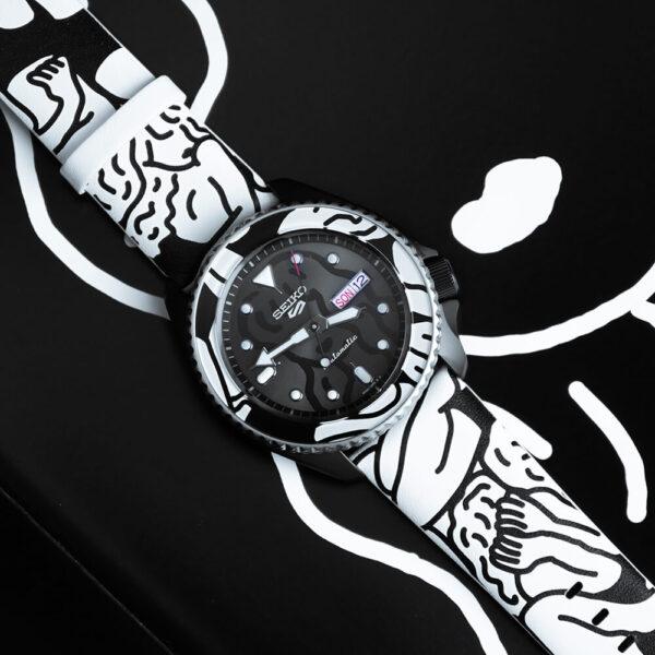 Мужские наручные часы SEIKO Seiko 5 Sports x AUTO MOAI SRPG43K1 Limited Edition - Фото № 15
