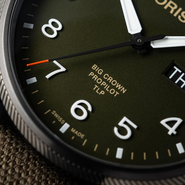 Мужские наручные часы ORIS BIG CROWN TLP LIMITED EDITION 01 752 7760 4287-Set - Фото № 11