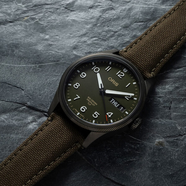 Мужские наручные часы ORIS BIG CROWN TLP LIMITED EDITION 01 752 7760 4287-Set - Фото № 9
