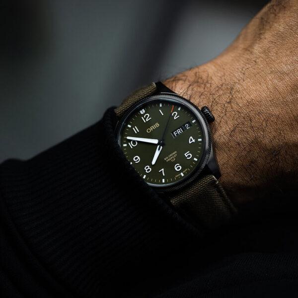 Мужские наручные часы ORIS BIG CROWN TLP LIMITED EDITION 01 752 7760 4287-Set - Фото № 10